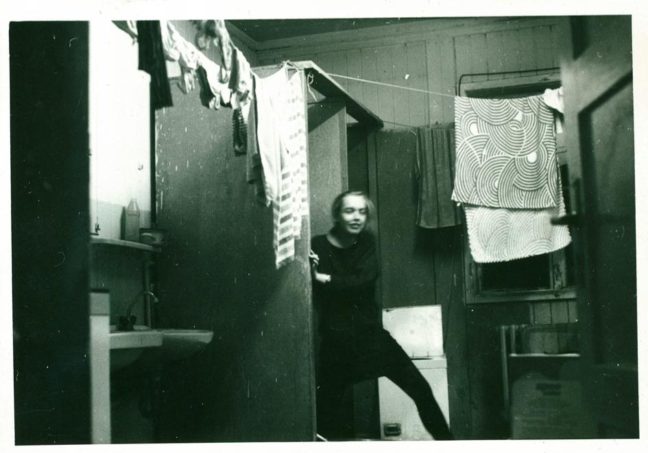 Unser alter Waschraum im Wohnheim der Fachschule für Angewandte Kunst in Ober-Schlema/Erzgebirge