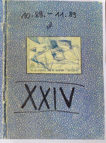 Tagebuch Nr. 24, Oktober - November 1989